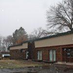GWなのに、雪降ってます~