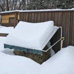 4月の「どか雪」にびっくり