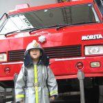 消防士さんになってみた