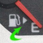 給油口が左右どちらか分からない時にいい方法
