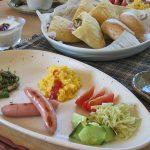 朝ご飯はこんな感じ
