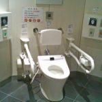 最近の多目的トイレはすごい