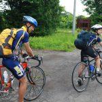 自転車でのツーリング 新婚旅行は道内一周