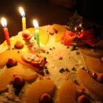 初めてのクリスマスケーキ