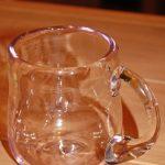 ふらの硝子でグラス造り体験